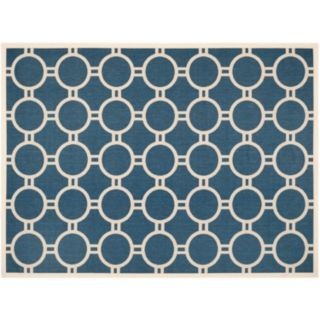 Safavieh Courtyard Circle in the Square Indoor Outdoor Rug
