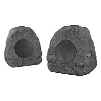 Innovative Technology Rechargeable Bluetooth Outdoor Wireless Rock Speakers