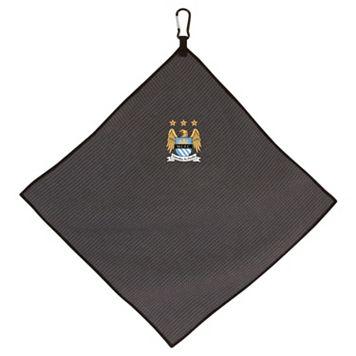 Team Effort Manchester City FC Microfiber Golf Towel