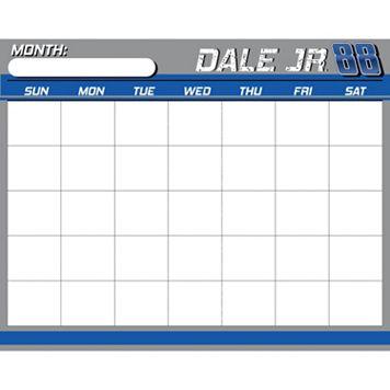 Dale Earnhardt, Jr. Dry-Erase Calendar
