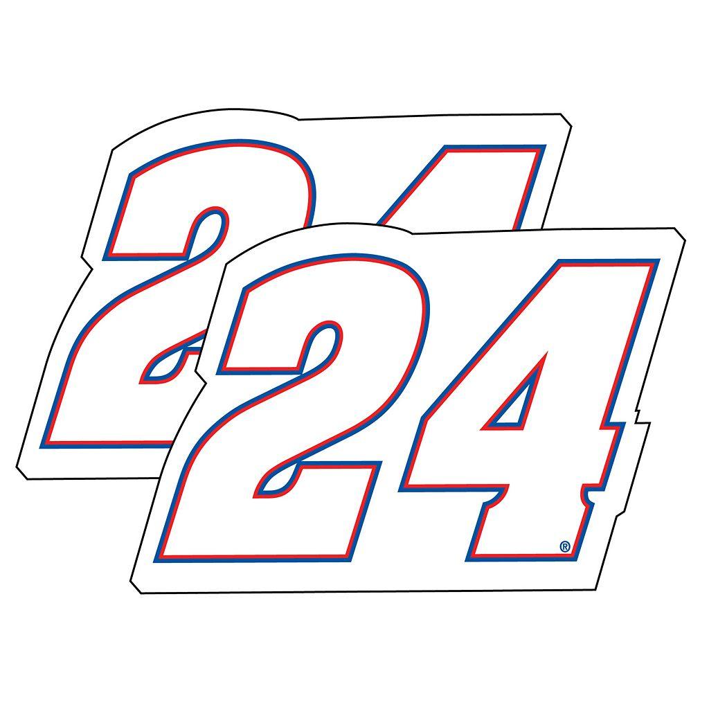 Chase Elliot 2-Pack Jumbo Number Magnet Set