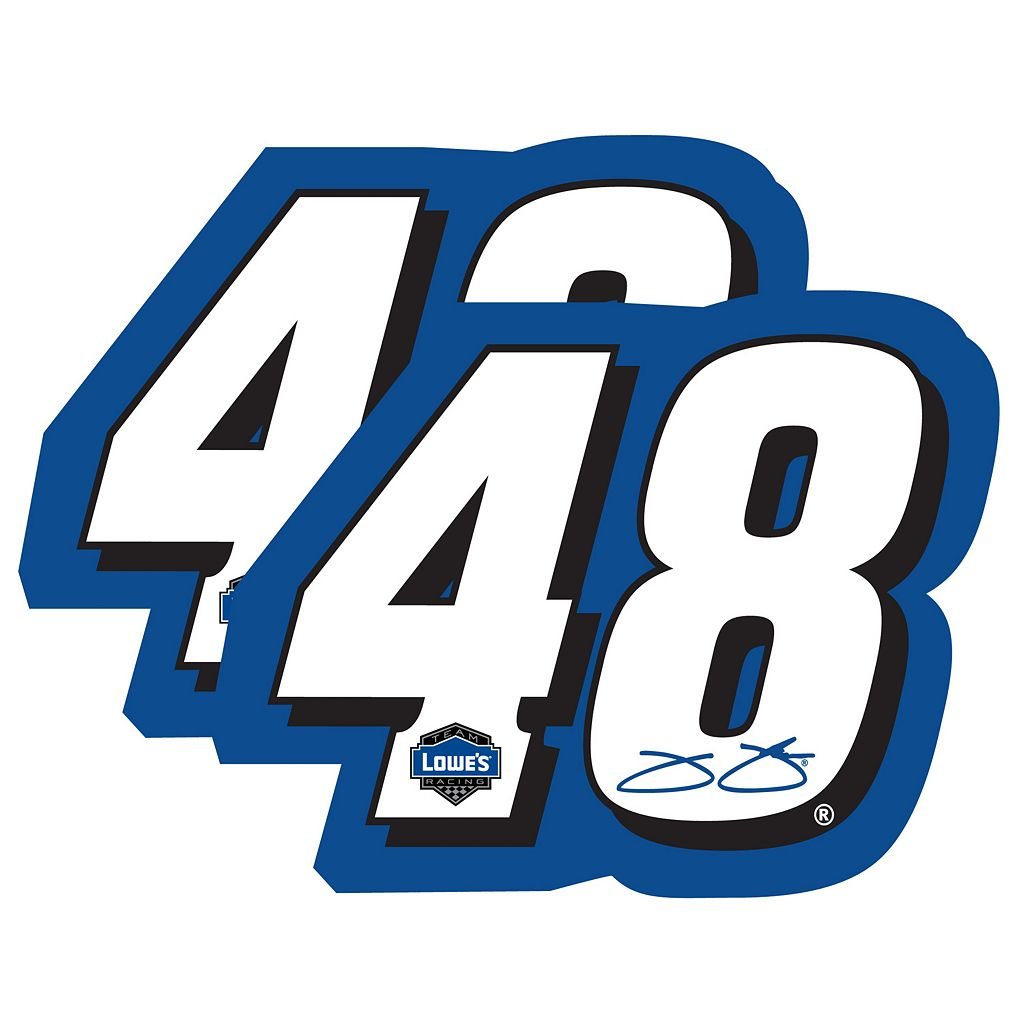 Jimmie Johnson 2-Pack Jumbo Number Magnet Set