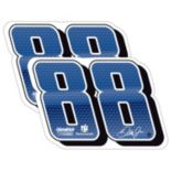 Dale Earnhardt, Jr. 2-Pack Jumbo Number Magnet Set
