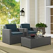 Palm Harbor Faux Wicker Seating 3 pc Set