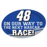 Jimmie Johnson Jumbo Race Day Magnet