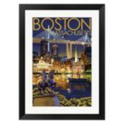 Metaverse Art Boston Paul Revere Framed Wall Art