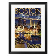 Metaverse Art Boston Paul Revere Framed Wall Art