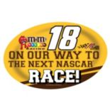 Kyle Busch Jumbo Race Day Magnet