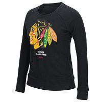 Women's Reebok Chicago Blackhawks French Terry Tee