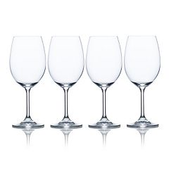 Mikasa Laura 4-pc. White Wine Glass Set