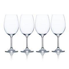 Mikasa Laura 4 pc White Wine Glass Set