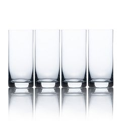 Mikasa Laura 4 pc Highball Glass Set