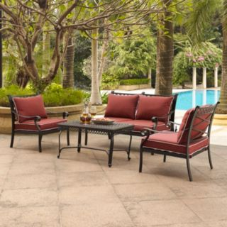 Portofino Cast Aluminum Conversation 4-piece Set