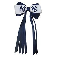 Women's New York Yankees Bow Hair Clip