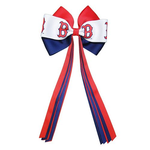 Women's Boston Red Sox Bow Hair Clip