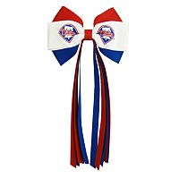 Women's Philadelphia Phillies Bow Hair Clip