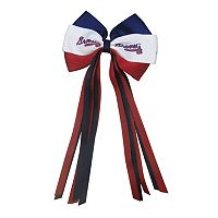 Women's Atlanta Braves Bow Hair Clip