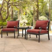 Portofino Cast Aluminum Conversation 3-piece Set