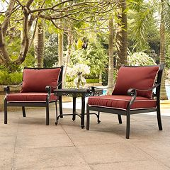 Portofino Cast Aluminum Conversation 3-piece Set