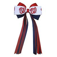 Women's Washington Nationals Bow Hair Clip