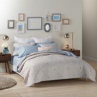 LC Lauren Conrad Confetti Dot Quilt Set