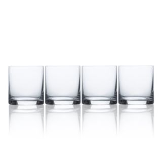 Mikasa Laura 4-pc. Double Old-Fashioned Glass Set