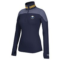 Women's Reebok Buffalo Sabres Performance Quarter-Zip Top
