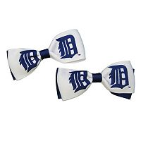 Women's Detroit Tigers 2-Piece Bow Hair Clip Set