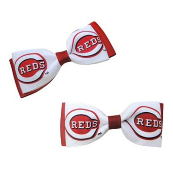 Women's Cincinnati Reds 2-Piece Bow Hair Clip Set