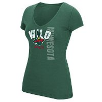 Women's Reebok Minnesota Wild Layers Tee