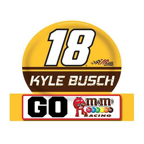 Kyle Busch Jumbo Tailgate Magnet