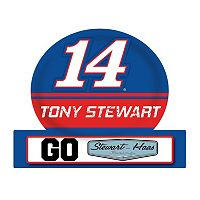 Tony Stewart Jumbo Tailgate Magnet