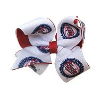 Juniors' Minnesota Twins Two-Tone Bow Hair Clip