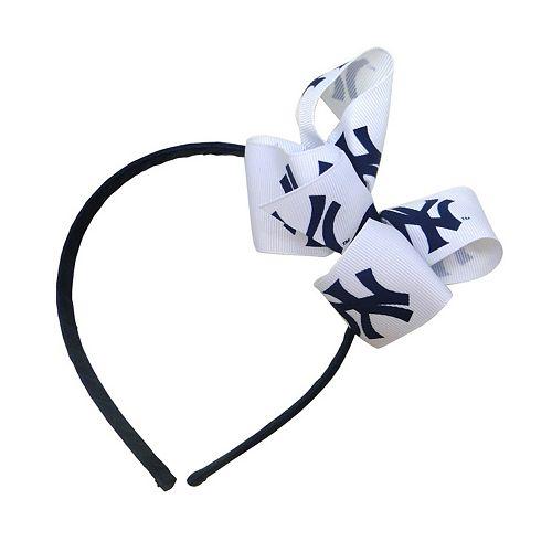 Women's New York Yankees Bow Headband