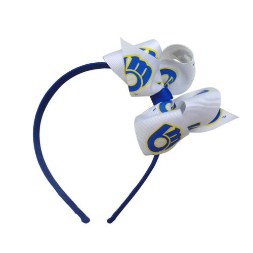 Women's Milwaukee Brewers Bow Headband