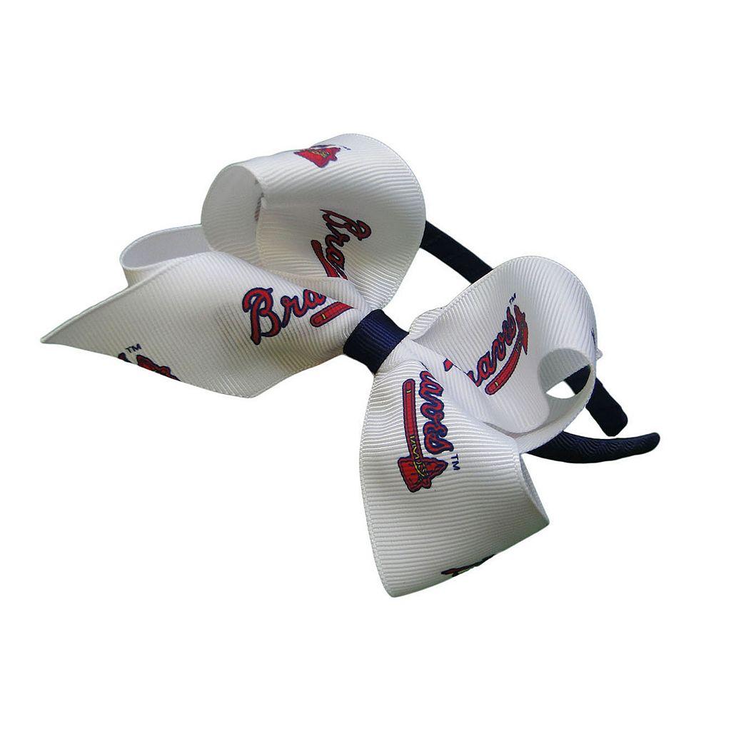 Women's Atlanta Braves Bow Headband
