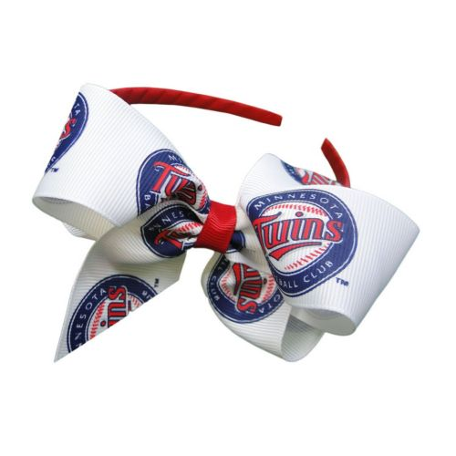 Women's Minnesota Twins Bow Headband