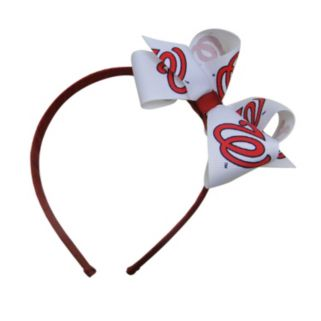 Women's Washington Nationals Bow Headband