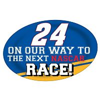 Chase Elliot Jumbo Race Day Peel & Stick Decal