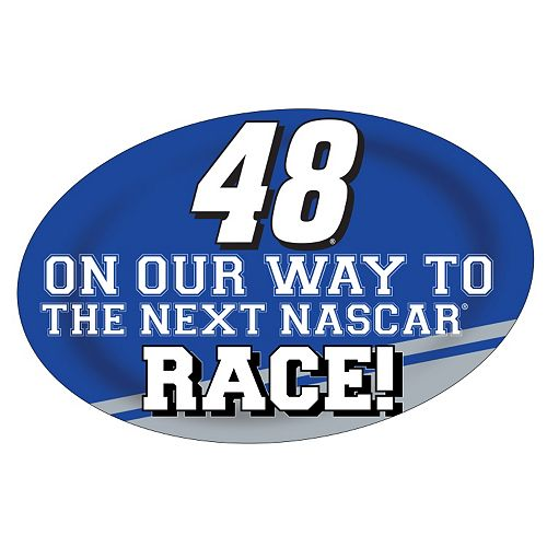 Jimmie Johnson Jumbo Race Day Peel & Stick Decal