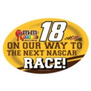 Kyle Busch Jumbo Race Day Peel & Stick Decal