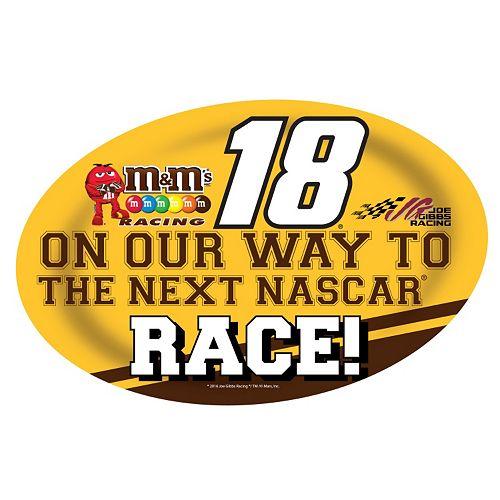 Kyle Busch Jumbo Race Day Peel & Stick Decal