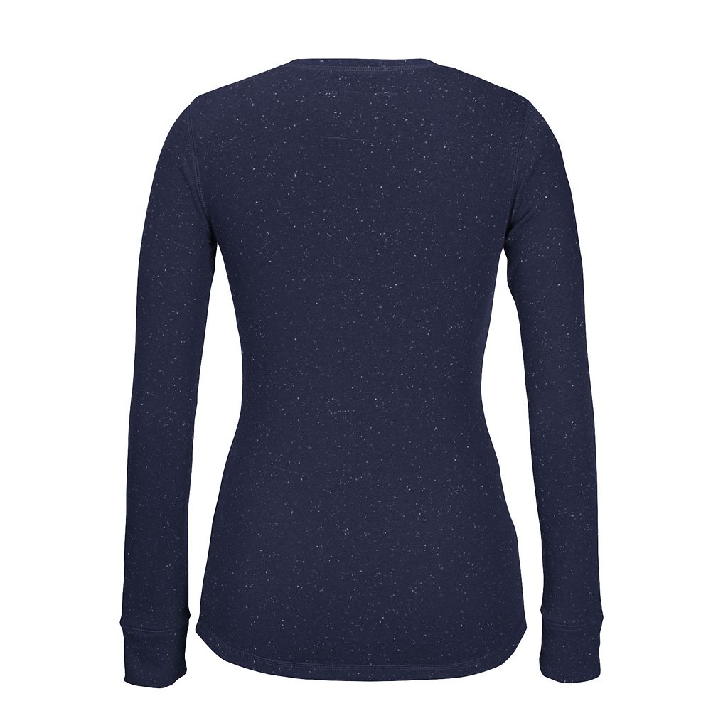Women's CCM Buffalo Sabres Lace-Up Henley Tee
