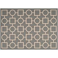 Safavieh Courtyard Geometry Indoor Outdoor Rug
