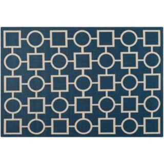 Safavieh Courtyard Geometry Indoor Outdoor Rug