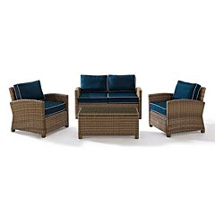 Bradenton Faux Wicker Seating 4-piece Set