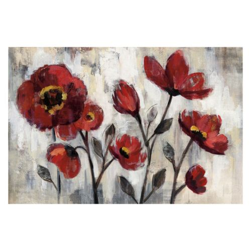 Floral Simplicity Canvas Wall Art