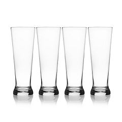 Mikasa Laura 4 pc Pilsner Glass Set