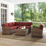 Bradenton Faux Wicker Seating 5 pc Set