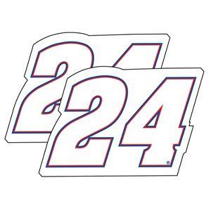 Chase Elliot 2-Pack Jumbo Number Decal Set